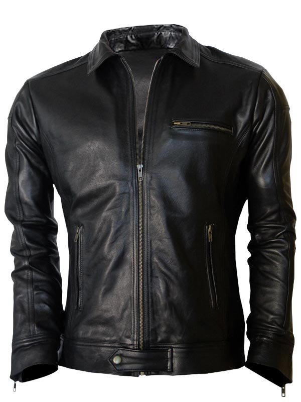 Aaron Paul Leather Jacket