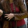 yojackets Alicia Witt 88 Minutes Brown Leather Jacket