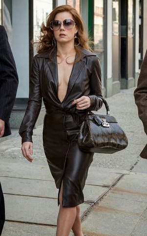 American Hustle Amy Adams Leather Jacket