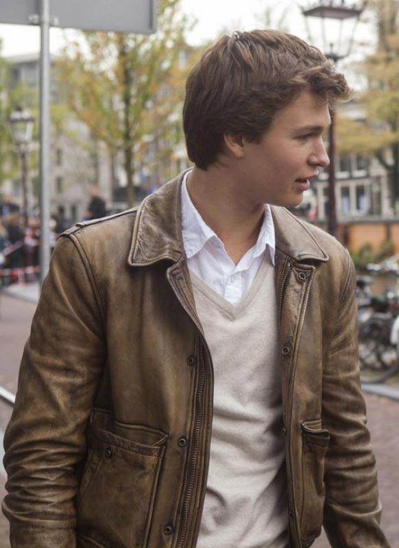 Ansel Elgort The FaultinOur Stars Jacket