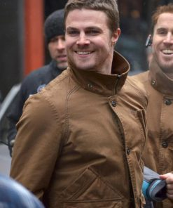 Arrow Stephen Amell Oliver Queen Jacket