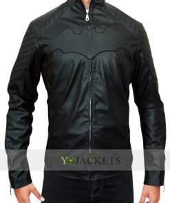 Black Christian Bale Jacket