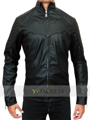 Black Christian Bale Jacket