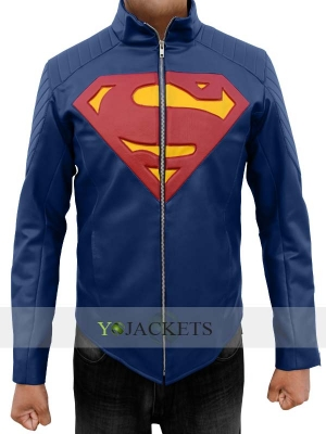 Blue Superman Man of Steel Jacket