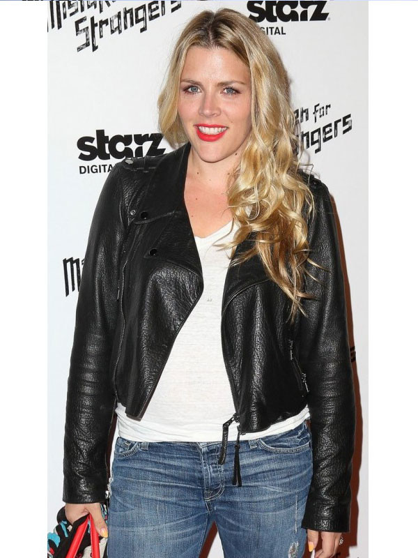 Busy Philipps Leather Jacket