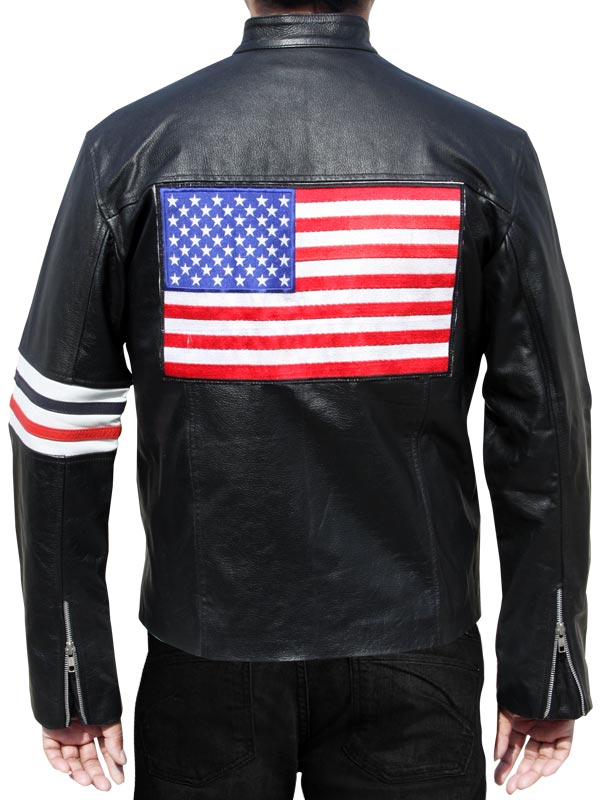 Captain America Jacket Easy Rider Jacket