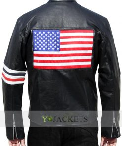 Captain America Jacket Easy Rider Leather Jacket