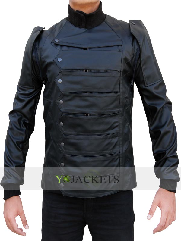 Captain America Winter Soldier Bucky Jacket