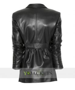 Captain America 2 Scarlett Johansson Leather Jacket