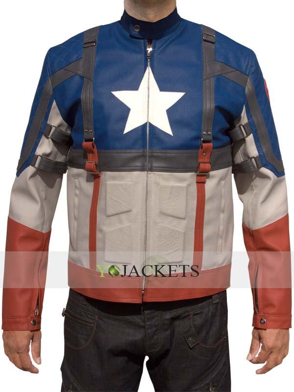 Captain America First Avenger Jacket