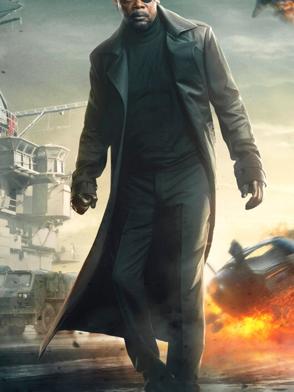 Captain America The Winter Soldier Coat Nick Fury