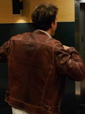 Charlie Logan Good Luck Chuck Leather Jacket