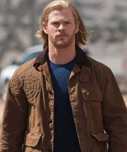 Chris Hemsworth Thor Brown Jacket