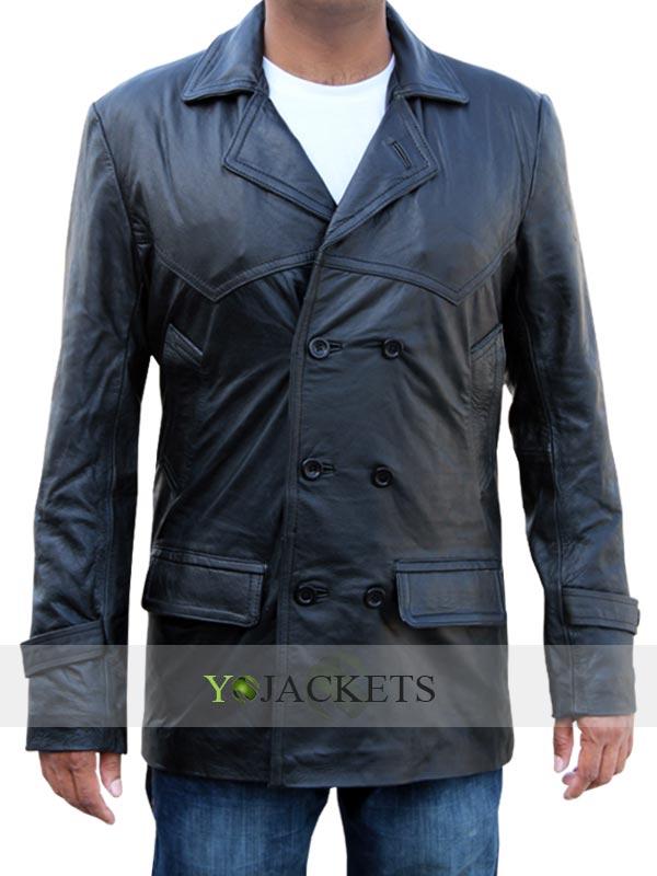 Christopher Eccleston Leather Coat