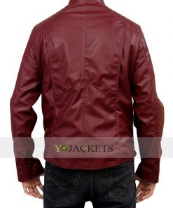 Clark Kent Red Smallville Superman Real Leather Jacket