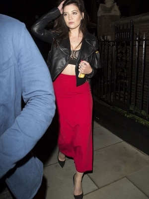 Daisy Lowe Black Jacket