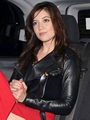 Daisy Lowe Leather Jacket