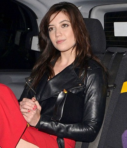Daisy Lowe Leather Jacket
