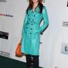 Dana Delany Turquoise Coat