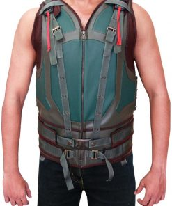Dark Knight Rises Tom Hardy Real Leather Bane Vest
