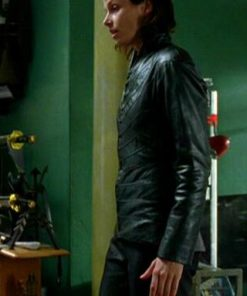 Bridget Moynahan Leather Jacket