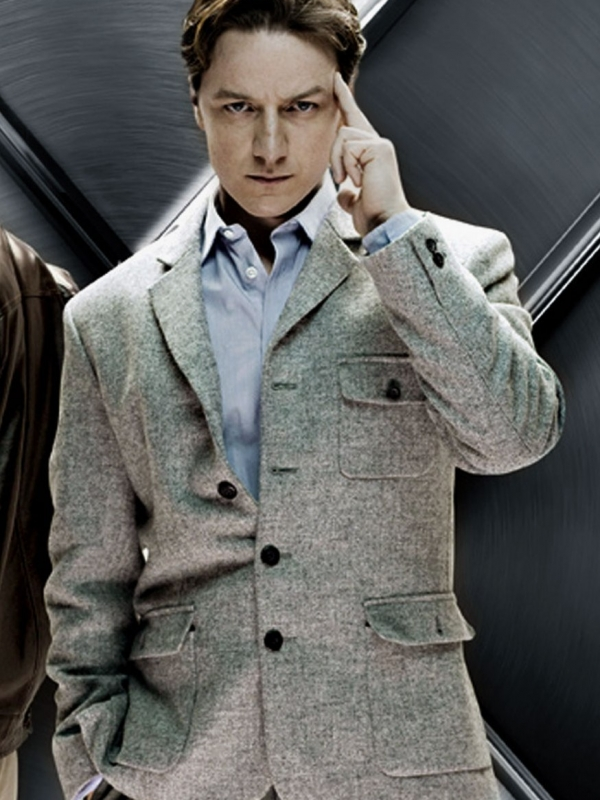 Dr Charles X Men First Class Xavier Coat Jacket
