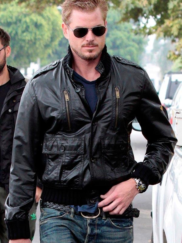 Eric Dane Jacket | Bomber Leather Jacket