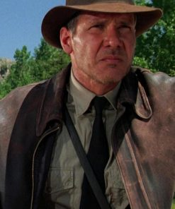 Indiana Jones 4 Distressed Jacket