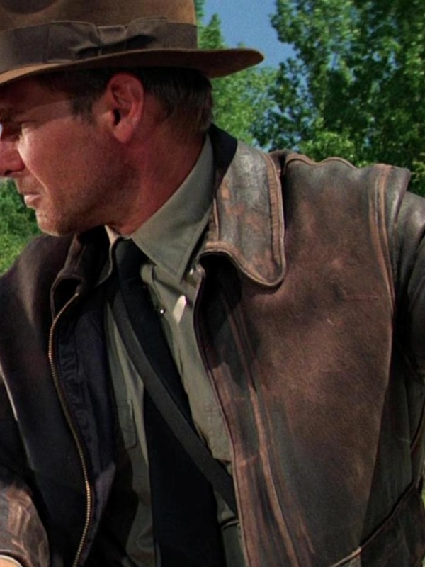 Indiana Jones Distressed Jacket