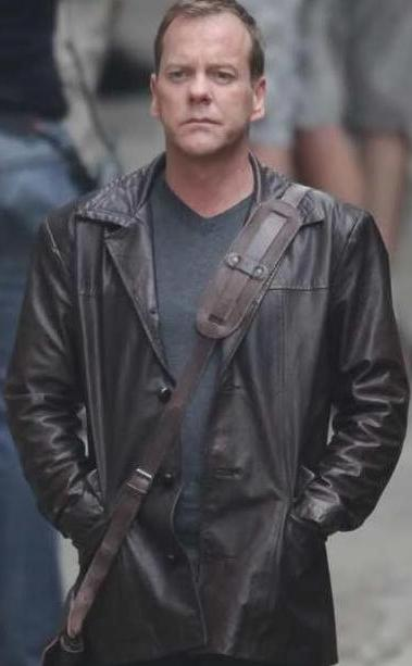 yojackets Jack Bauer 24 Series Leather Jacket
