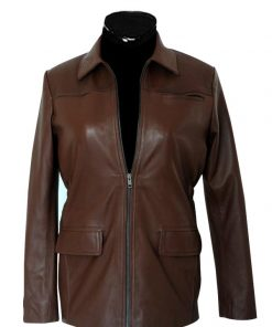 atniss Everdeen leather jacket