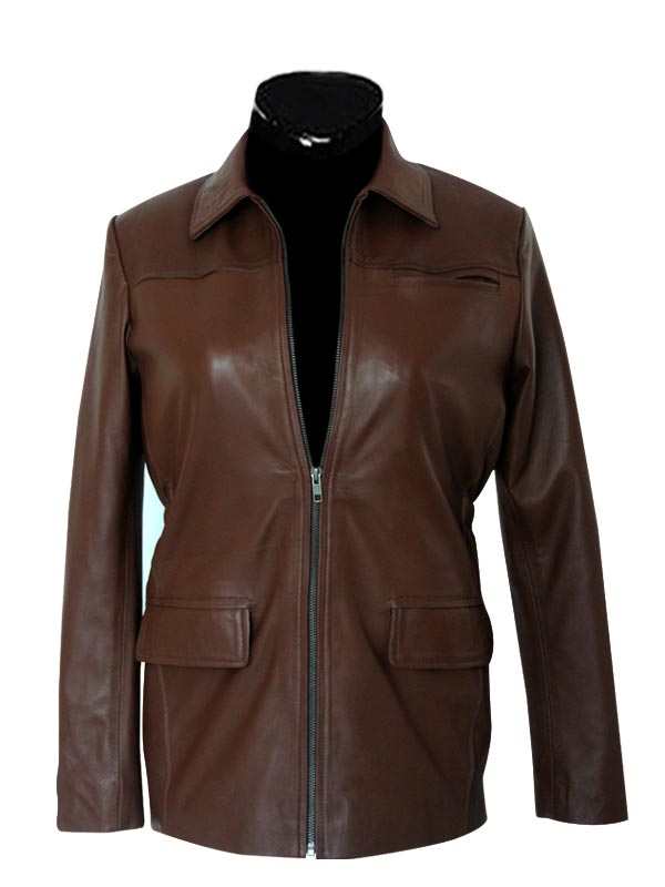 atniss Everdeen leather jacket