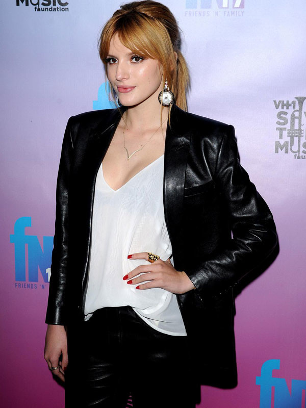 Pre Grammy Party Bella Thorne Yojackets