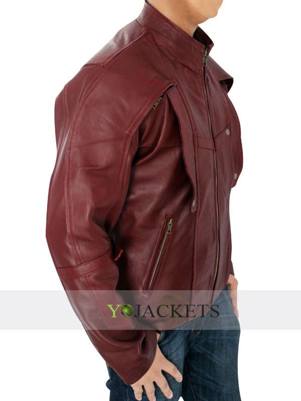 Red Guardians of the Galaxy Jacket