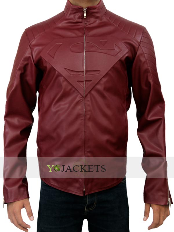 Red Superman Smallville Jackets