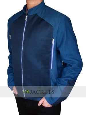 Blue Captain America Chris Evans Steve Rogers Jacket
