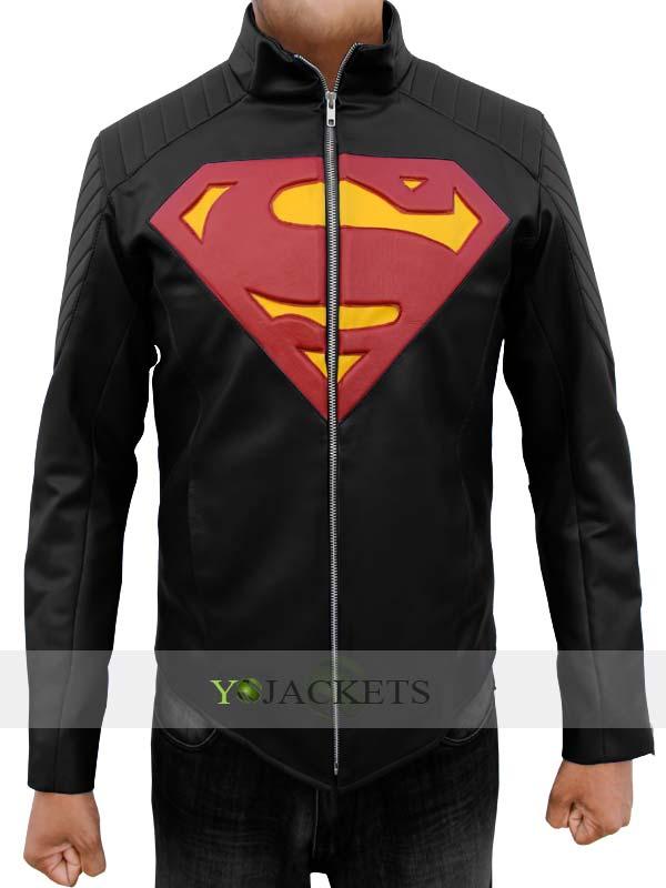 Superman Black Man of Steel Jacket
