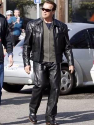 Terminator 5 Arnold Schwarzenegger Jacket