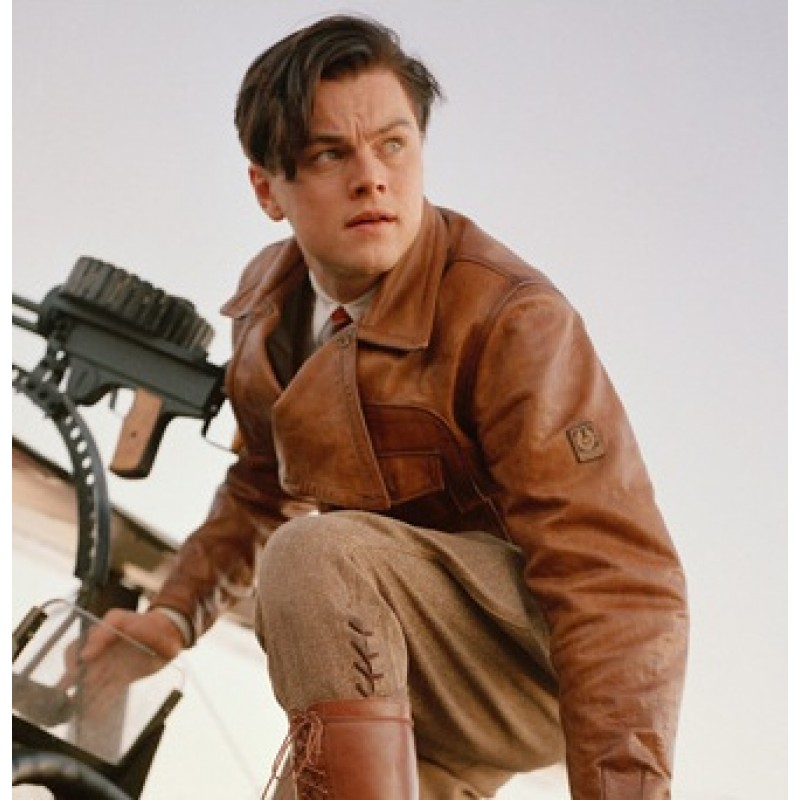 The Aviator Jacket Leonardo DiCaprio Howard Hughes