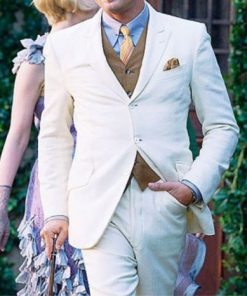 The Great Gatsby Suit Off White