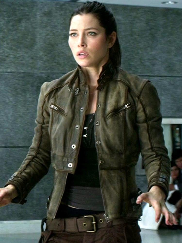 Total Recall Jessica Biel Jacket
