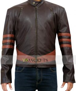 X men Origins Wolverine Hugh Jackman Leather Jacket