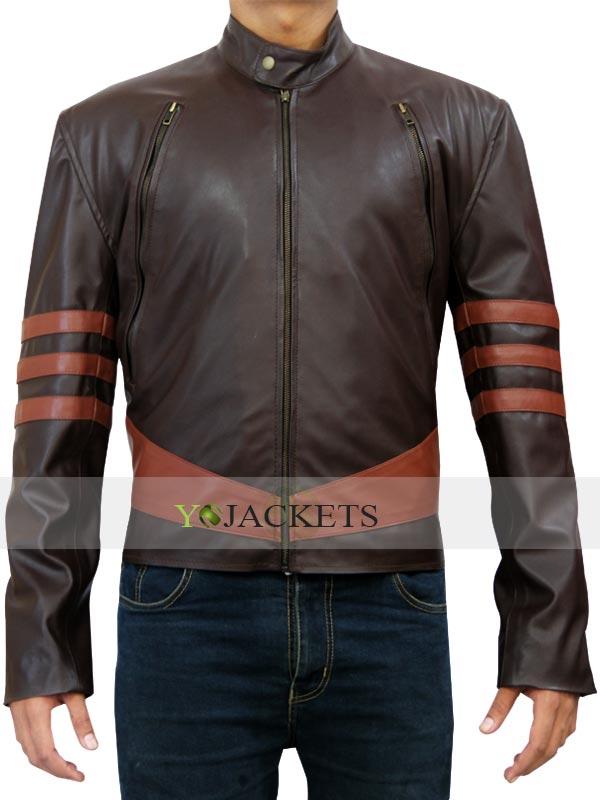 X men Origins Wolverine Hugh Jackman Leather Jacket