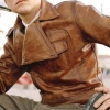 Yojackets Howard Hughes Aviator Leather Jacket