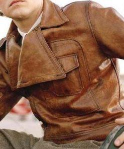 Yojackets Howard Hughes Aviator Leather Jacket