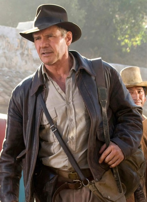 Indiana Jones Jacket Harrison Ford Leather Jacket