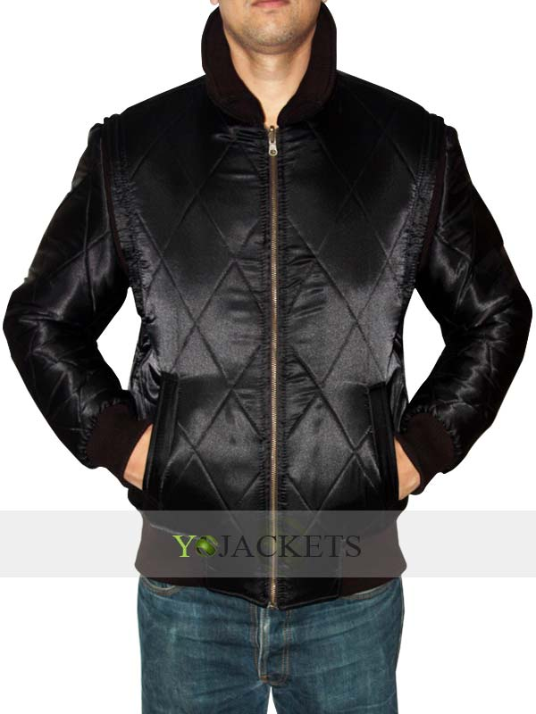 Ryan Gosling Drive Jacket Black
