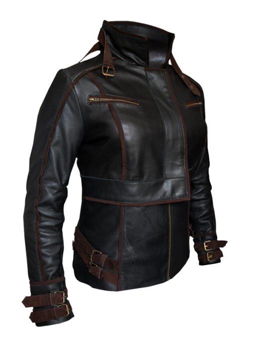 leather Total Recall Jessica Biel Jacket1