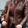 Alicia Witt 88 Minutes Brown Leather Jacket