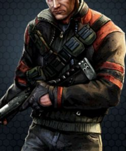 Contract Killer 2 Game Leather Jacket